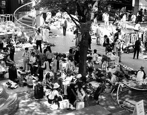Schnäppchenjagd auf Flohmarkt Veranstaltungen